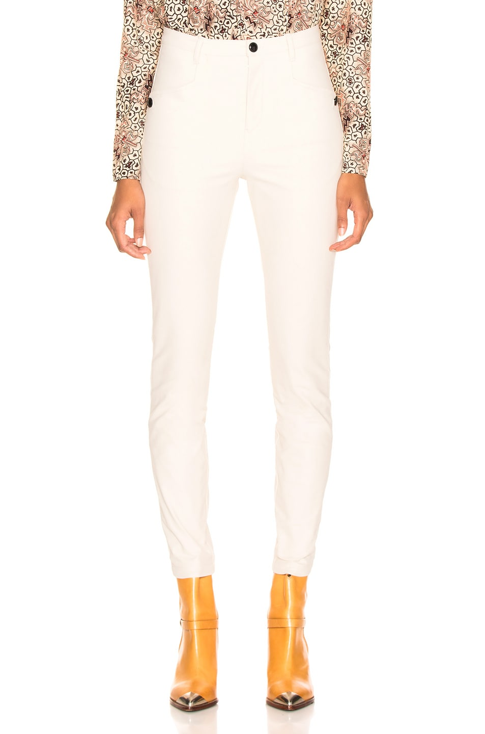 Image 1 of Isabel Marant Leonard Pant in Ecru