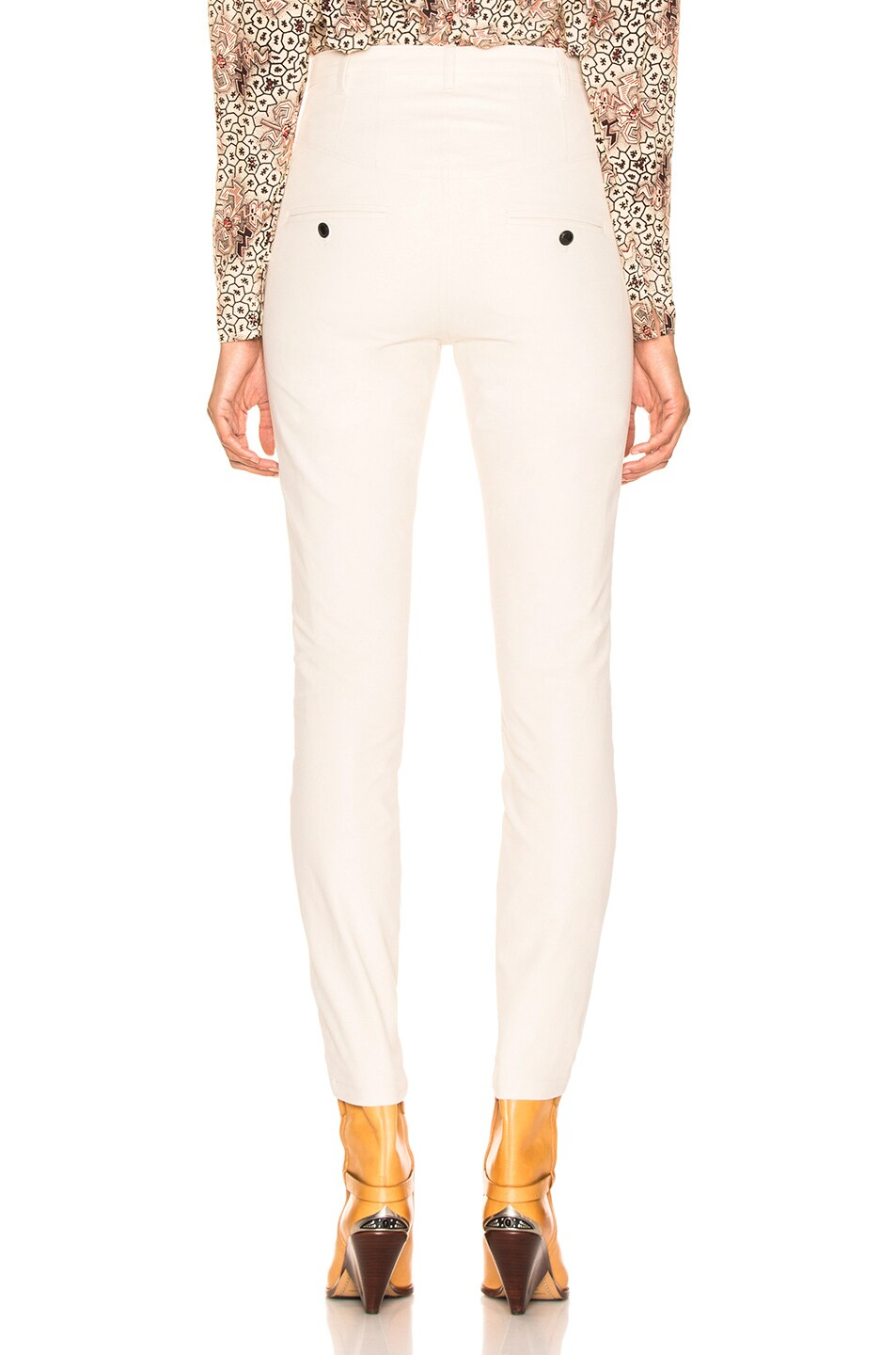 Image 3 of Isabel Marant Leonard Pant in Ecru