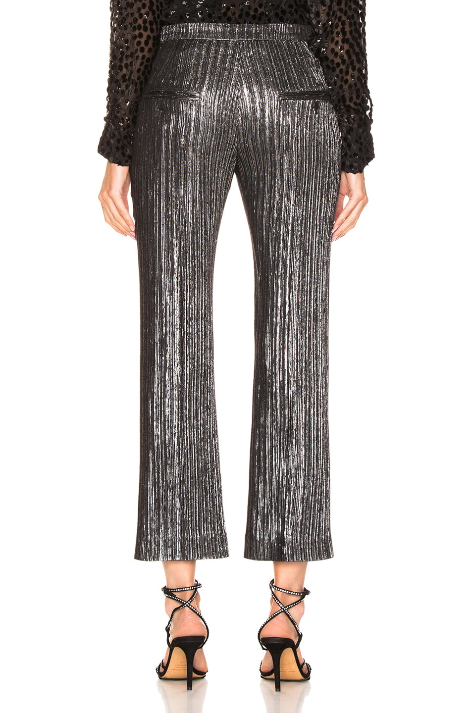 Image 3 of Isabel Marant Denlo Pant in Silver