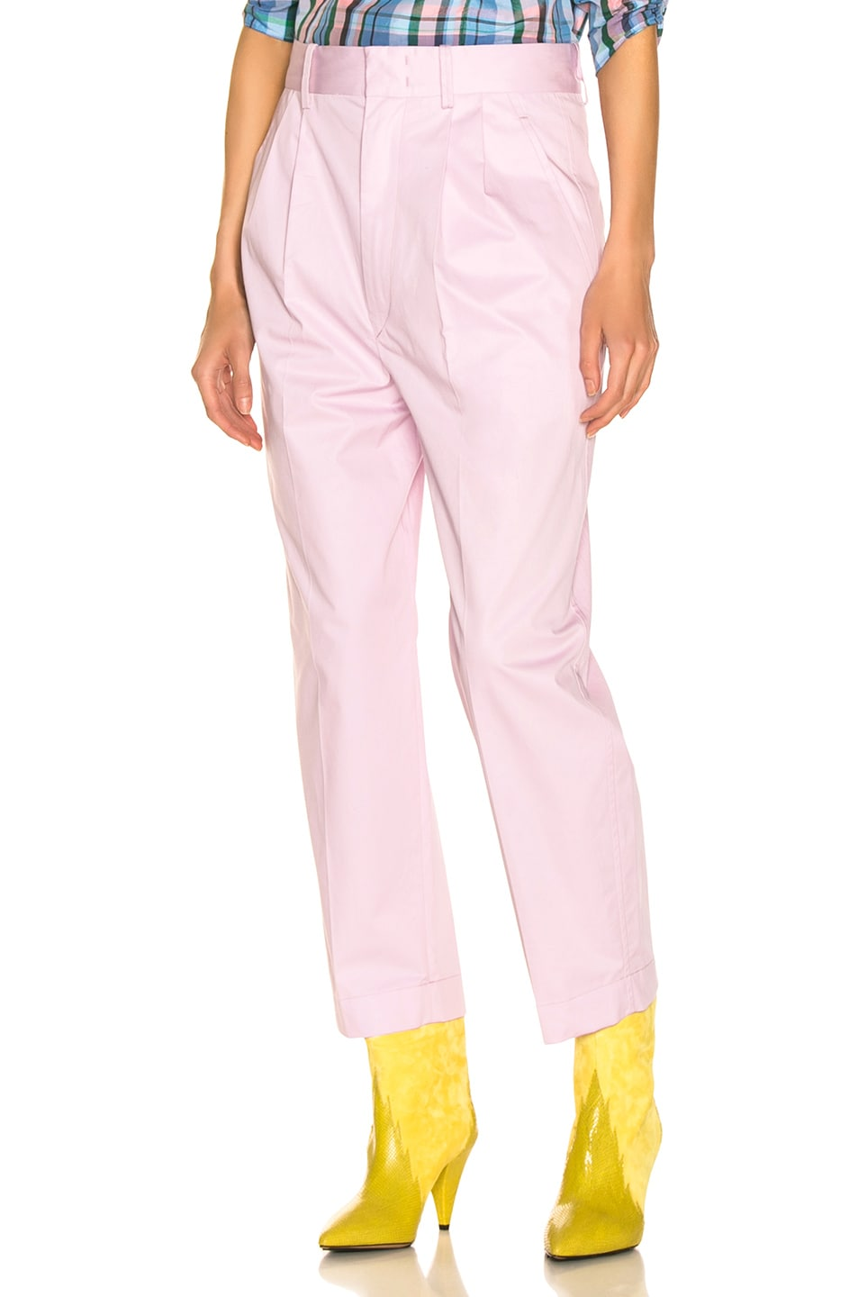 Image 1 of Isabel Marant Grayson Pant in Light Pink