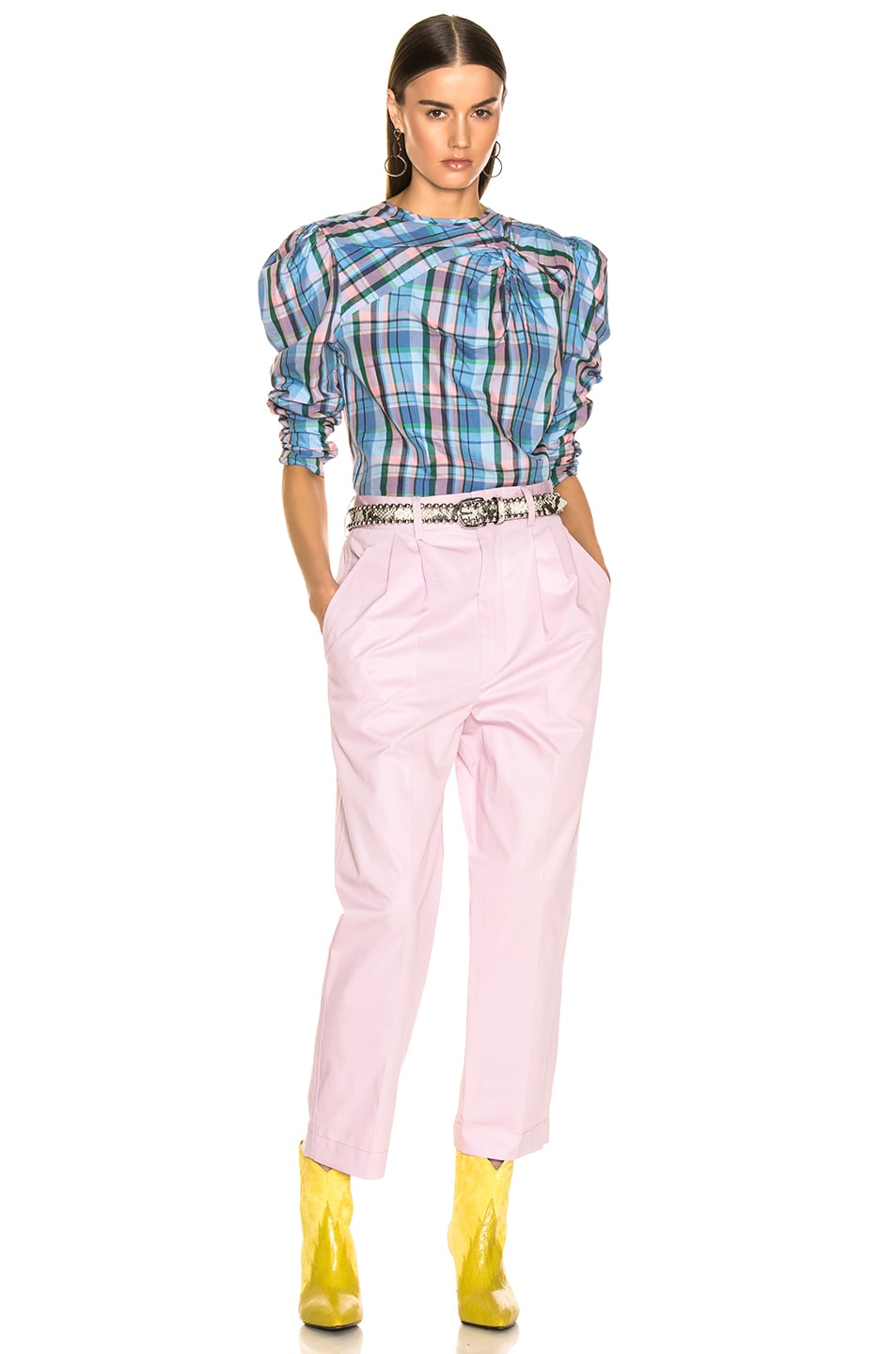 Image 4 of Isabel Marant Grayson Pant in Light Pink