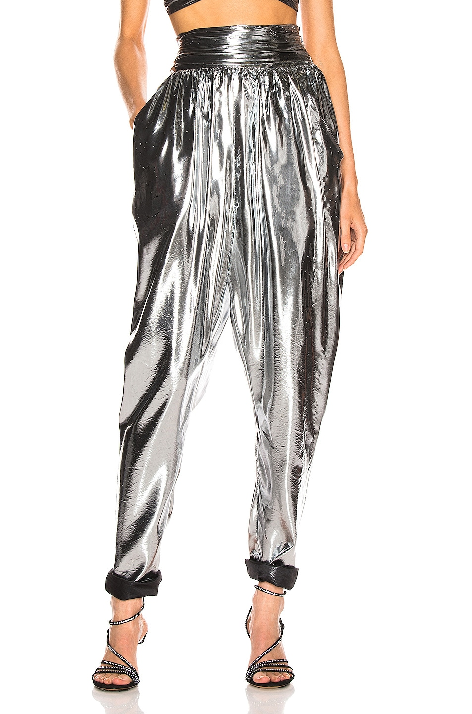 Image 1 of Isabel Marant Kariam Pant in Silver