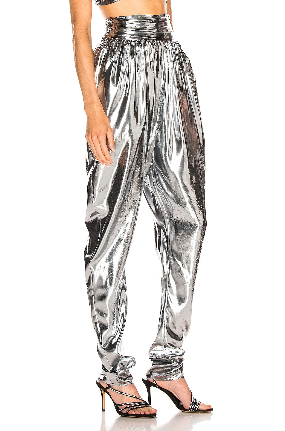 Image 2 of Isabel Marant Kariam Pant in Silver