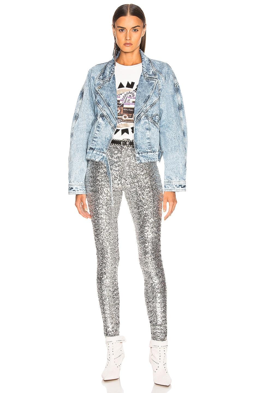 Image 4 of Isabel Marant Odiz Pant in Silver
