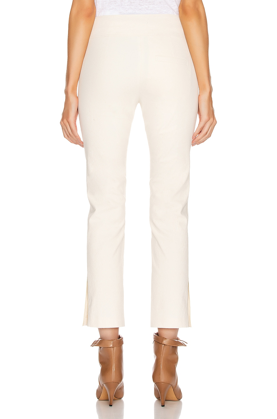 Image 3 of Isabel Marant Ovida Trouser in Ecru