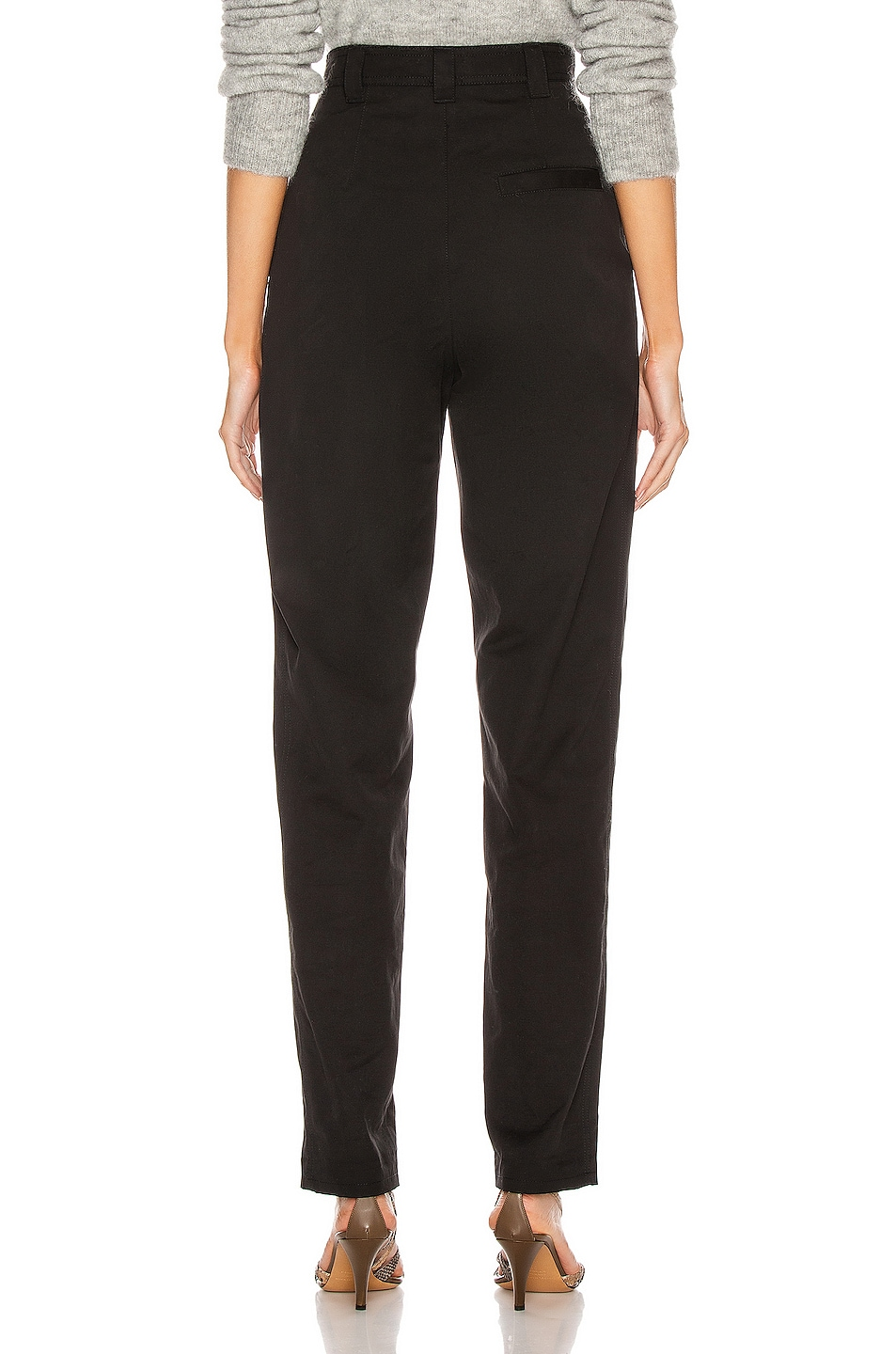 Image 3 of Isabel Marant Handy Trouser in Black