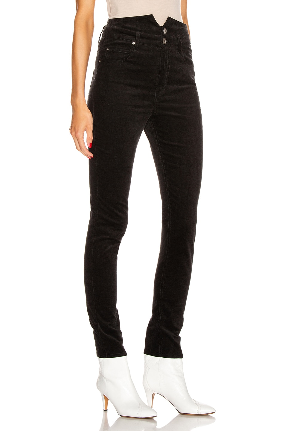 Image 2 of Isabel Marant Verna Pant in Black