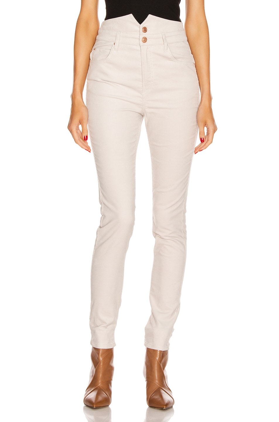 Image 1 of Isabel Marant Verna Pant in Chalk