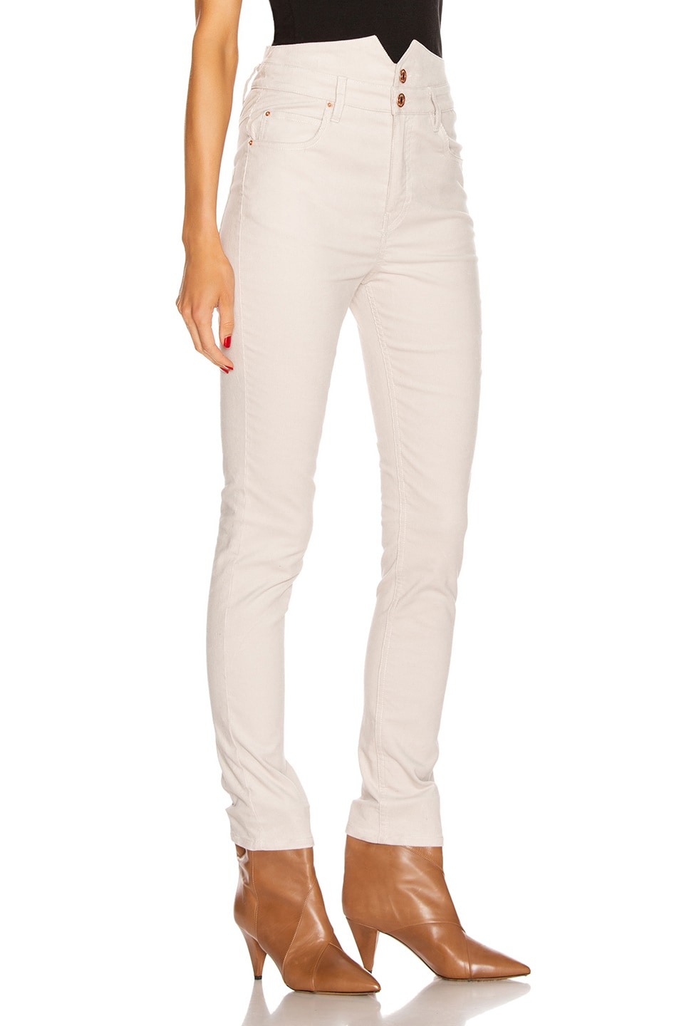 Image 2 of Isabel Marant Verna Pant in Chalk