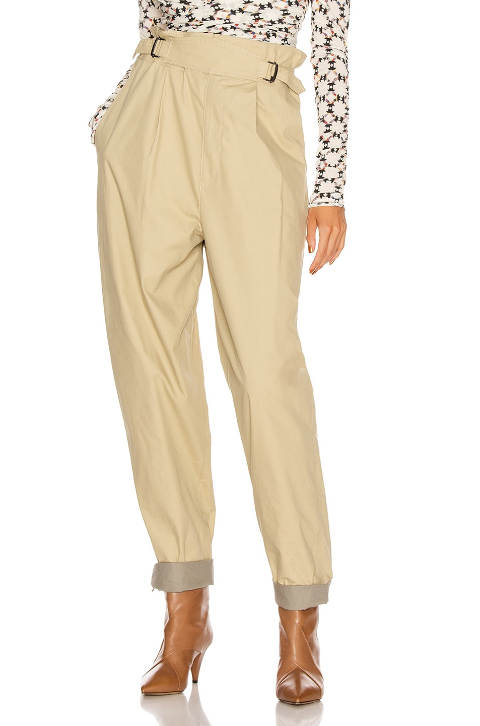 Image 1 of Isabel Marant Pierson Pant in Beige