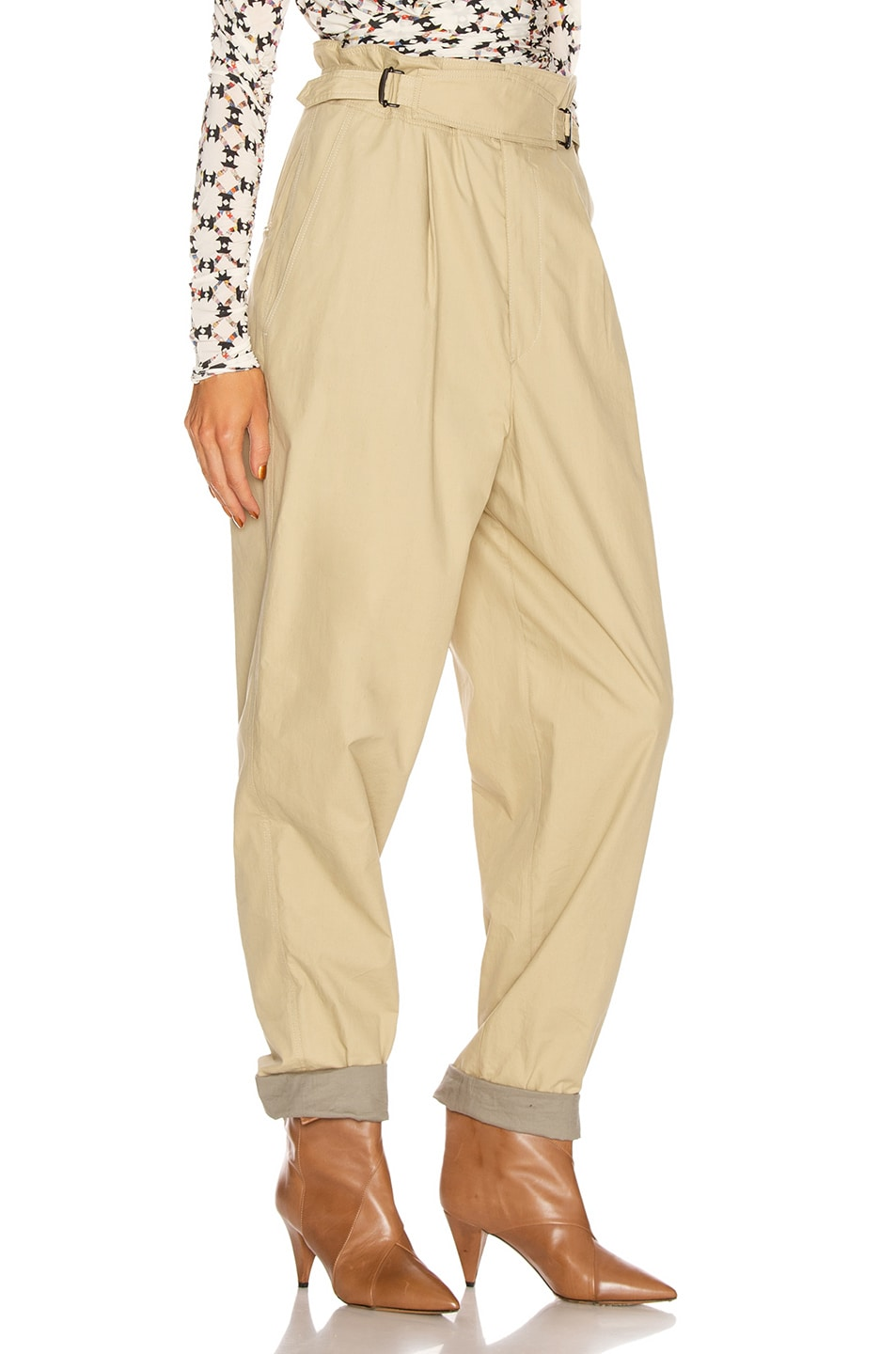 Image 2 of Isabel Marant Pierson Pant in Beige