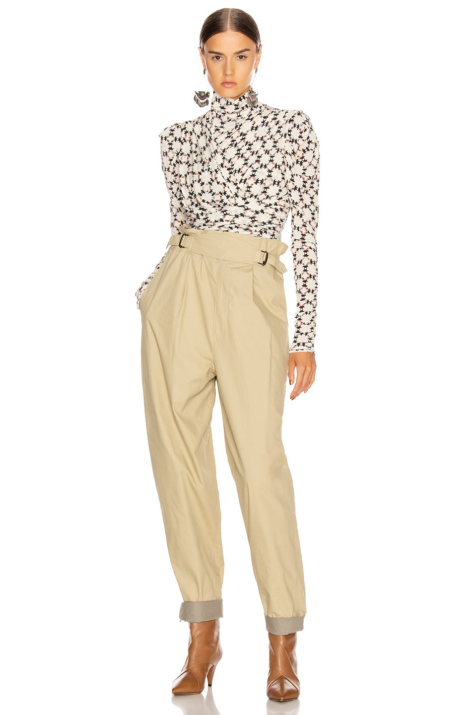 Image 4 of Isabel Marant Pierson Pant in Beige