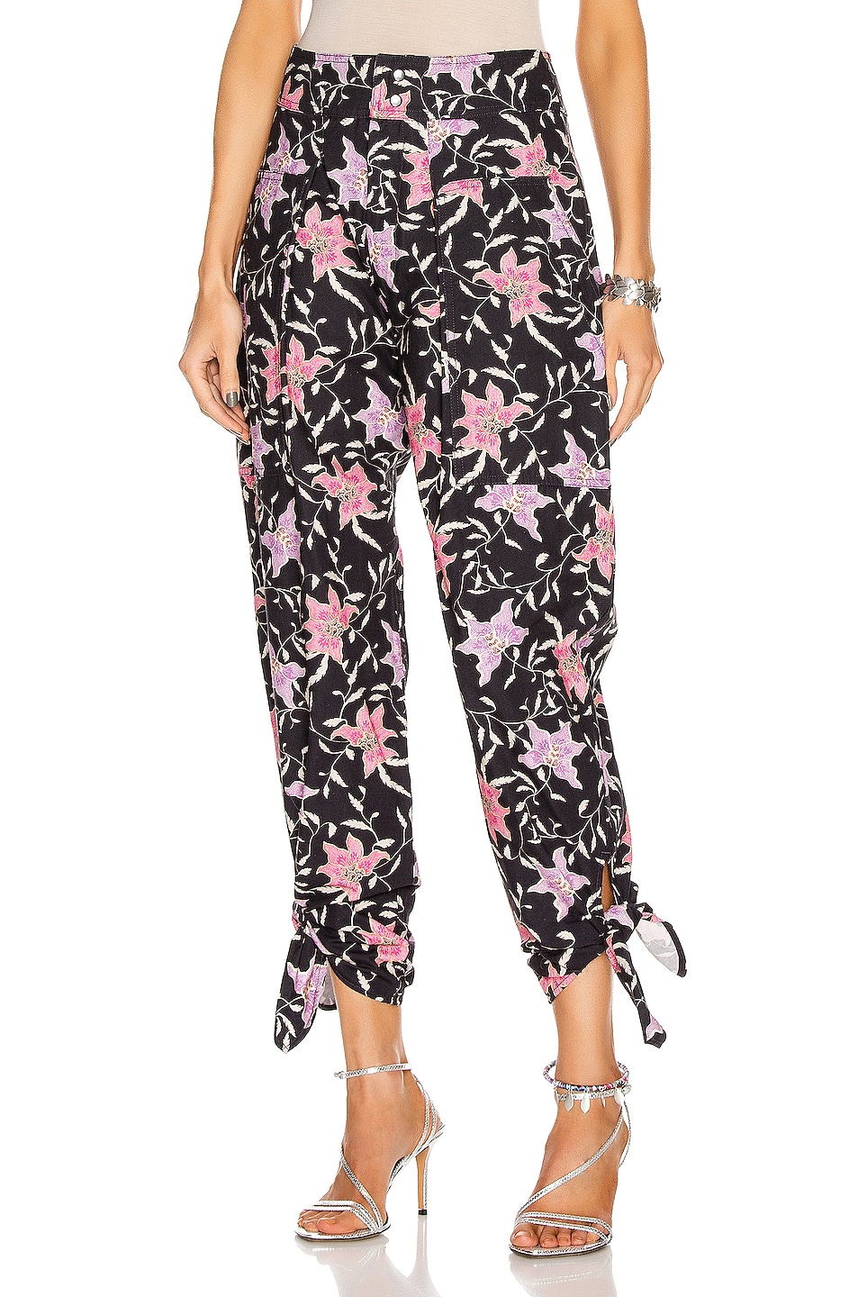 Image 1 of Isabel Marant Gaviao Pant in Faded Night
