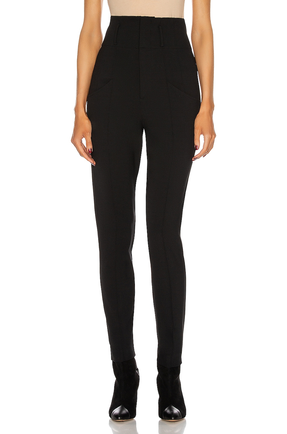 Image 1 of Isabel Marant Nadmea Pant in Black