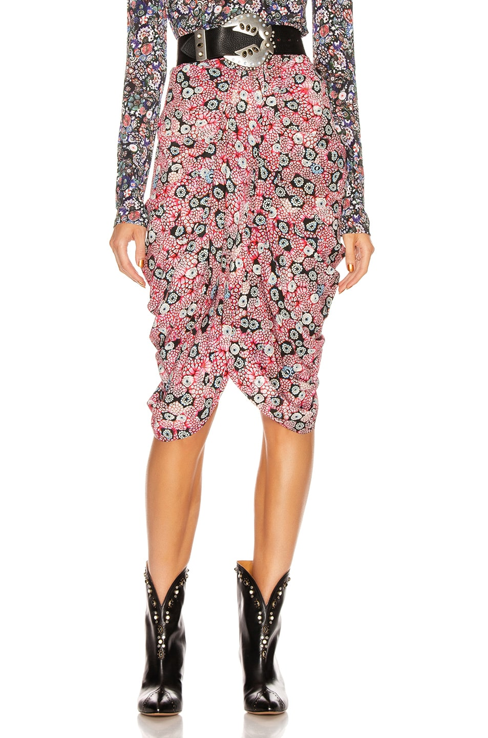 Image 1 of Isabel Marant Betina Skirt in Pink
