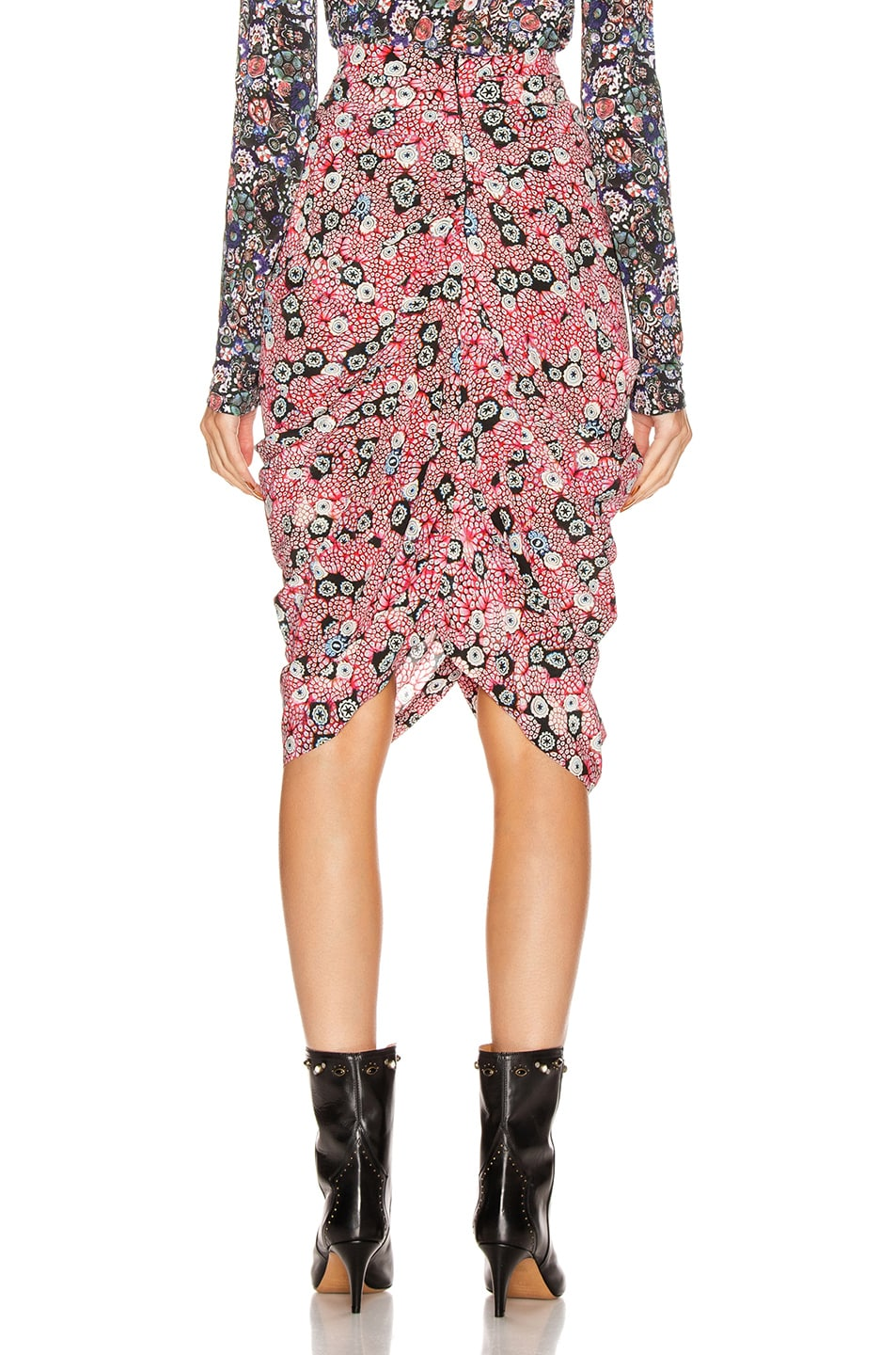 Image 3 of Isabel Marant Betina Skirt in Pink