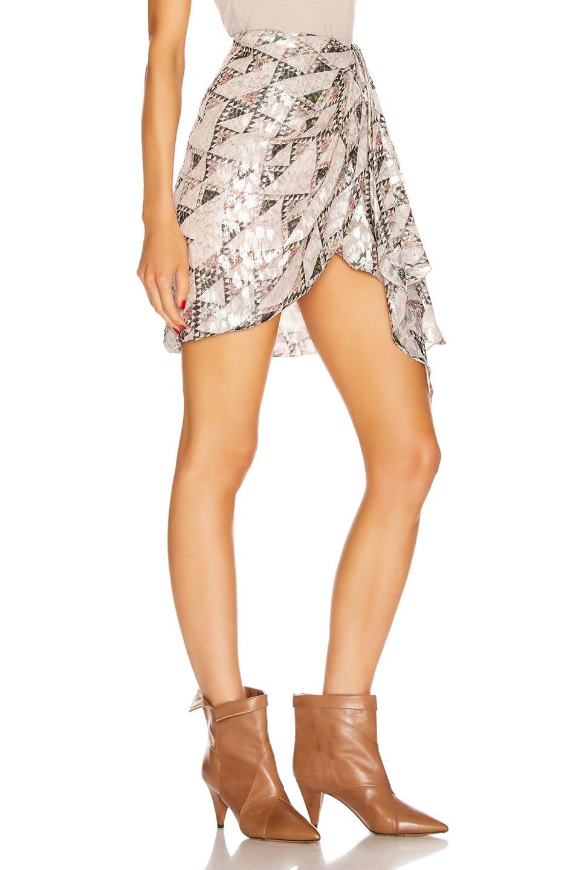 Image 2 of Isabel Marant Ixora Skirt in Ecru