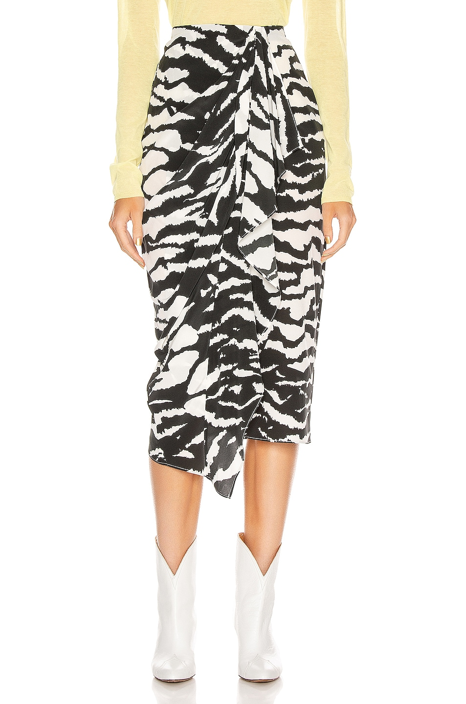 Image 1 of Isabel Marant Fabiana Skirt in Black