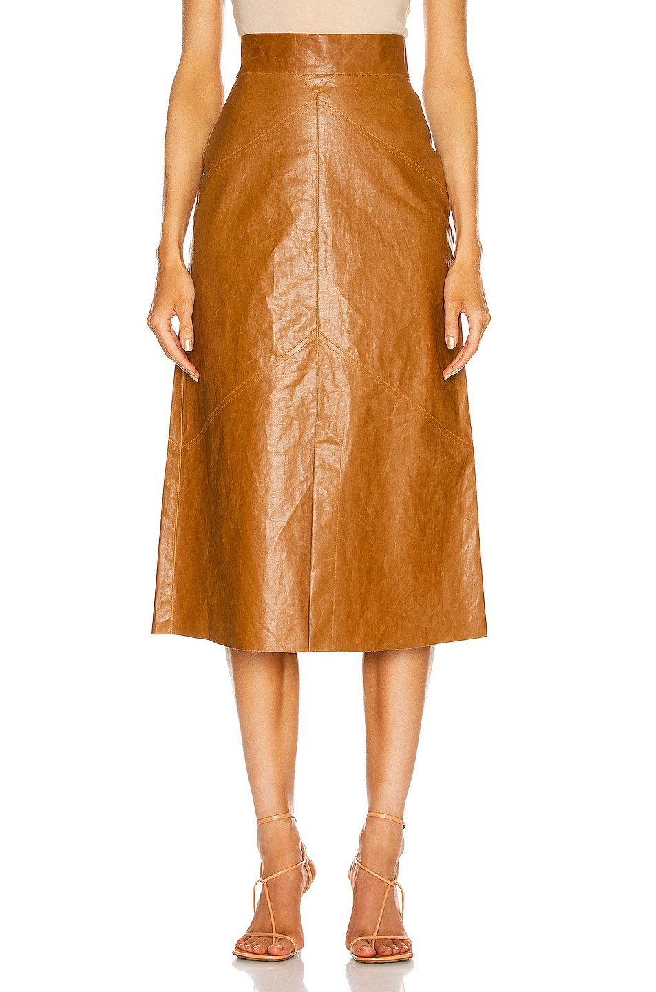 Image 1 of Isabel Marant Domiae Skirt in Camel