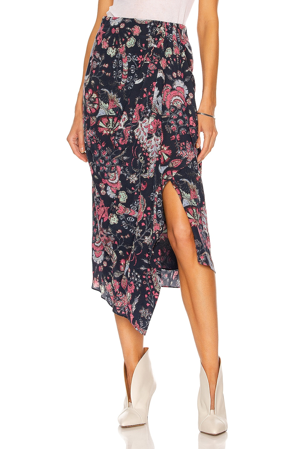 Image 1 of Isabel Marant Bree Skirt in Faded Night