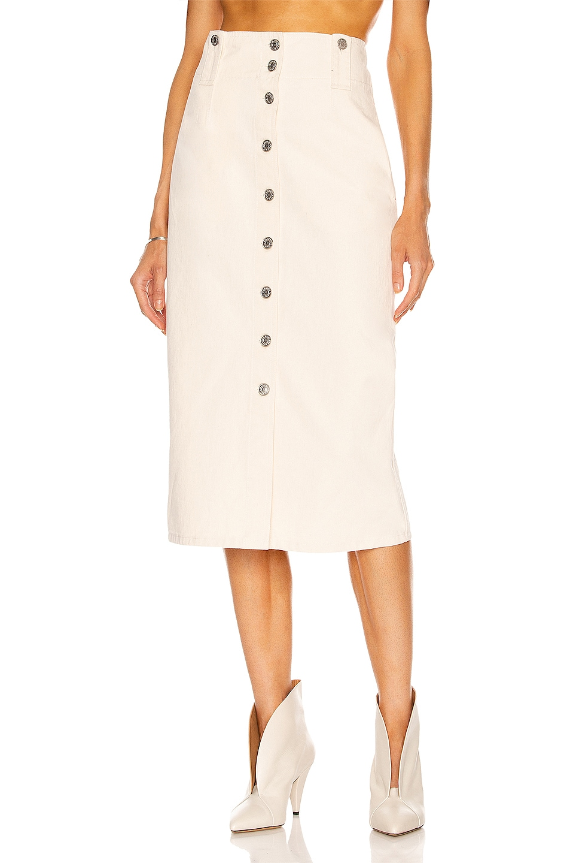 Image 1 of Isabel Marant Blehora Skirt in Ecru