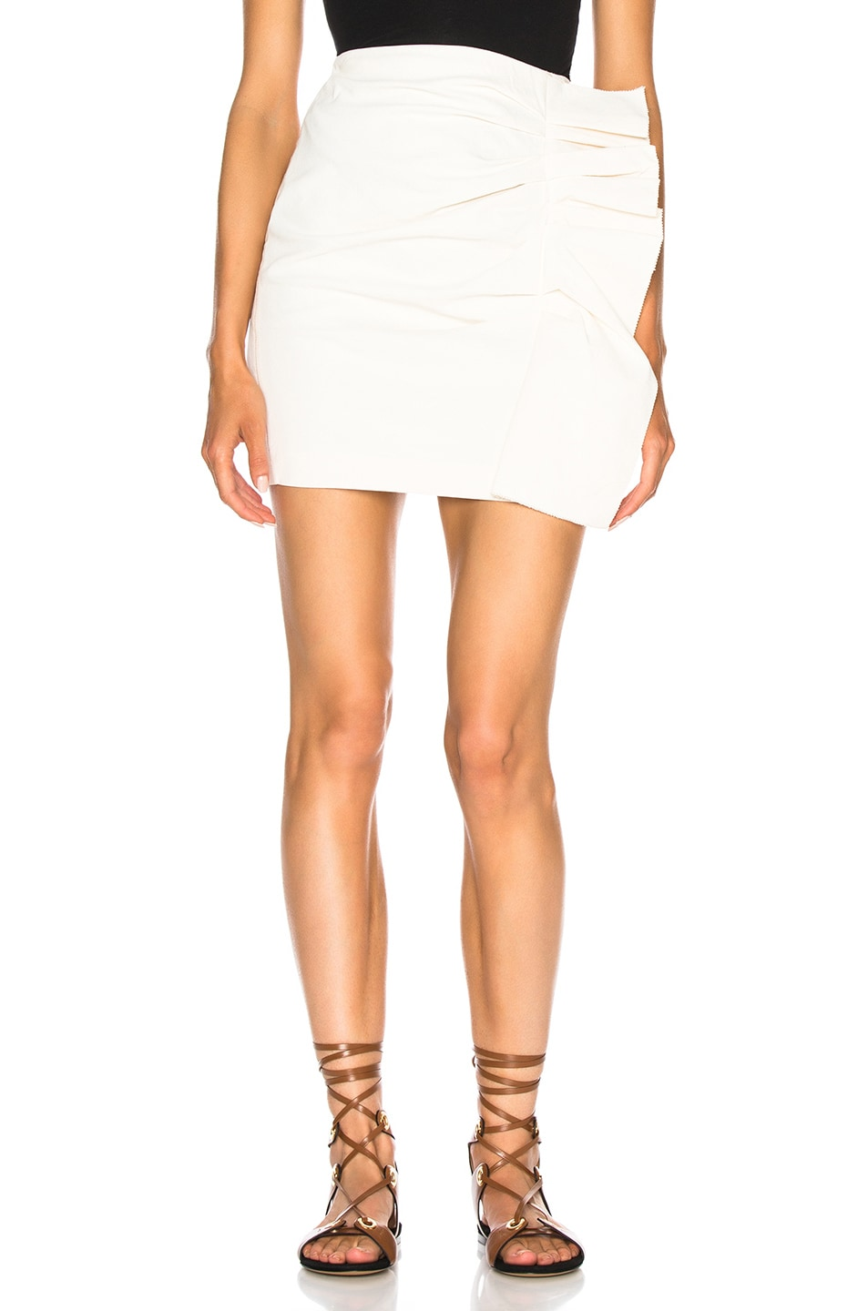 Image 1 of Isabel Marant Lefly Skirt in Ecru
