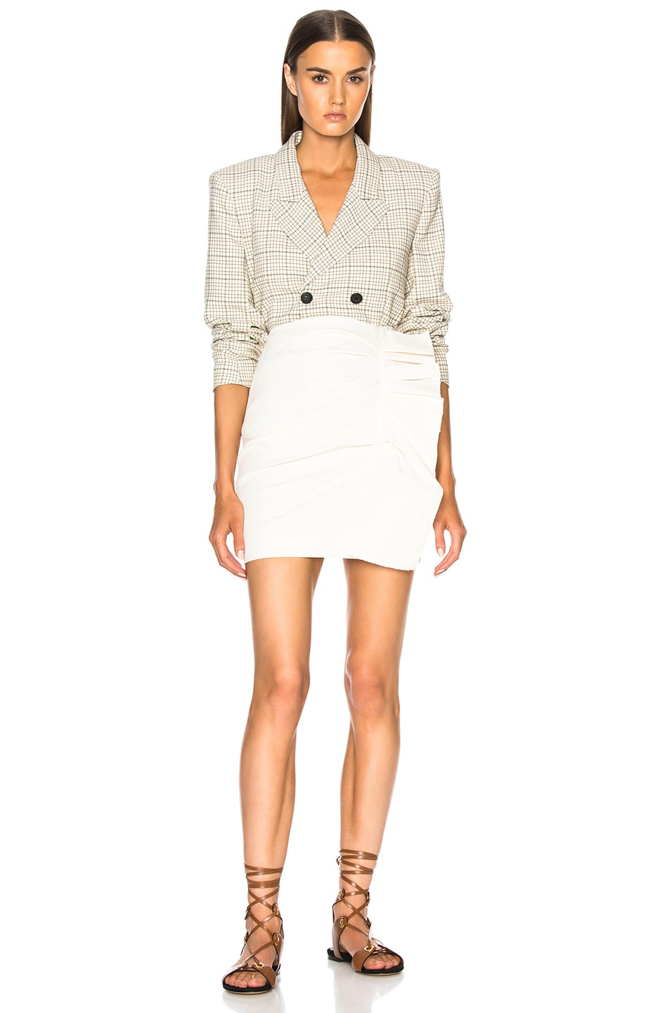 Image 5 of Isabel Marant Lefly Skirt in Ecru