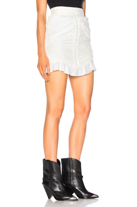 Image 2 of Isabel Marant Upi Skirt in White