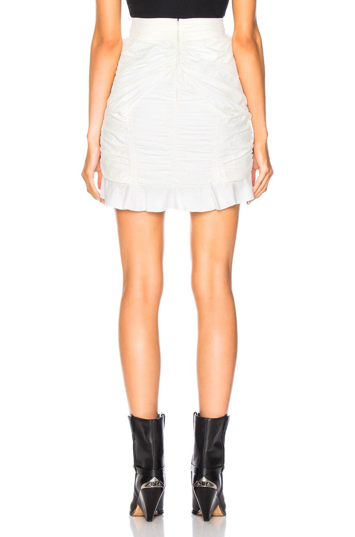 Image 3 of Isabel Marant Upi Skirt in White