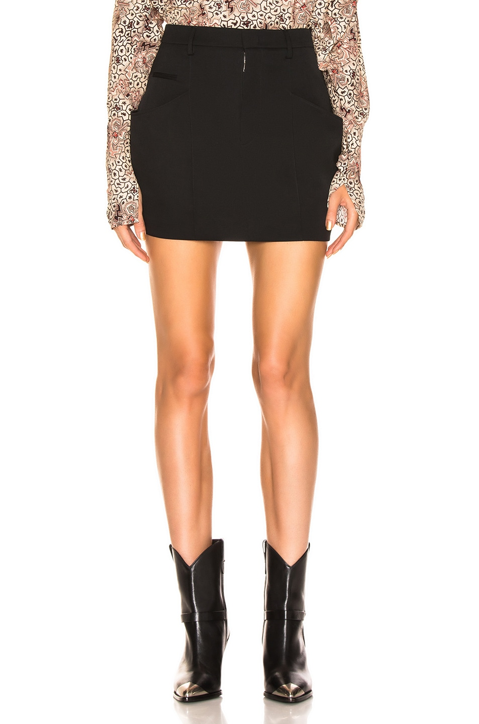 Image 1 of Isabel Marant Rabea Skirt in Black