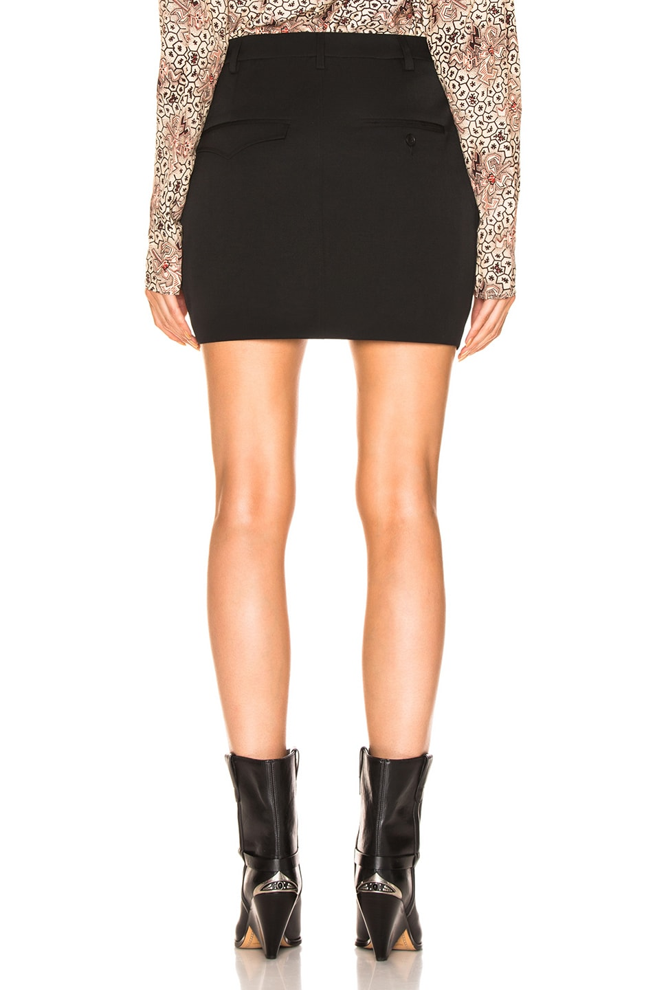 Image 3 of Isabel Marant Rabea Skirt in Black