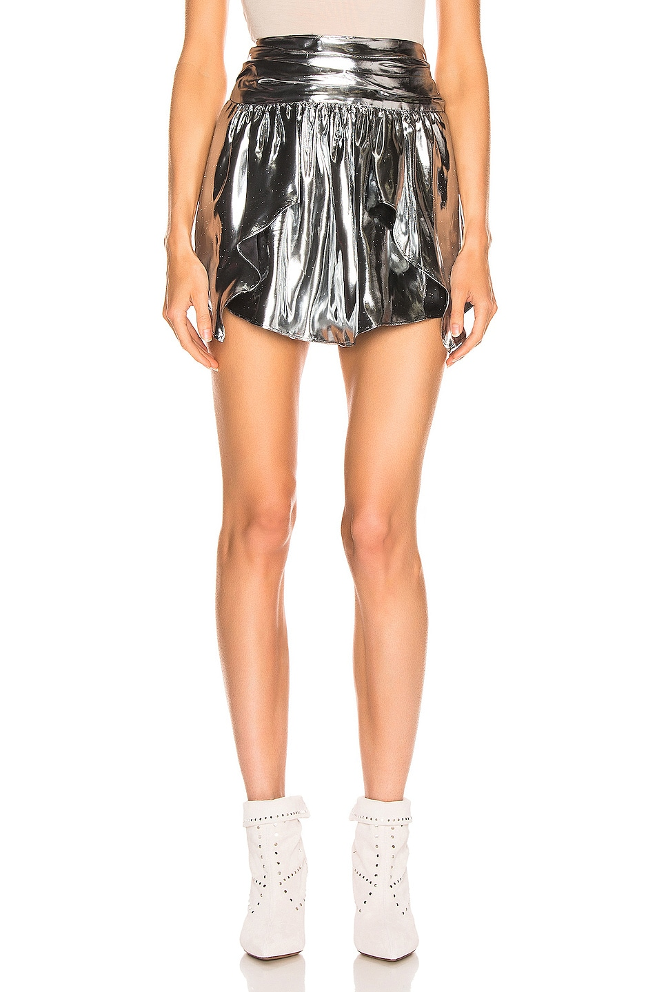 Image 1 of Isabel Marant Kira Skirt in Silver