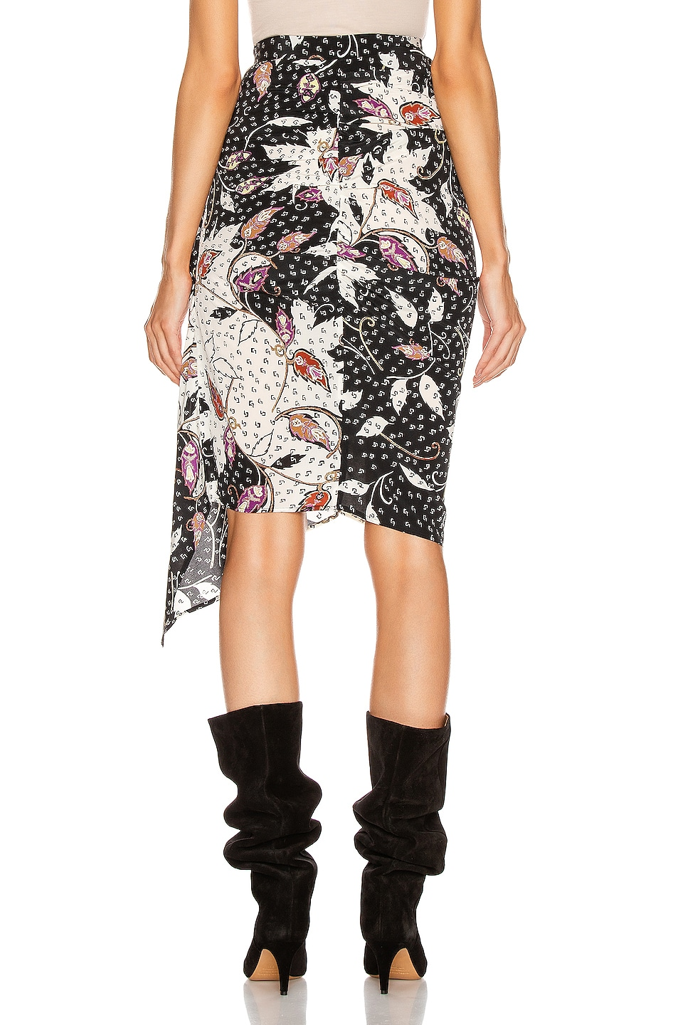 Image 4 of Isabel Marant Roly Skirt in Black