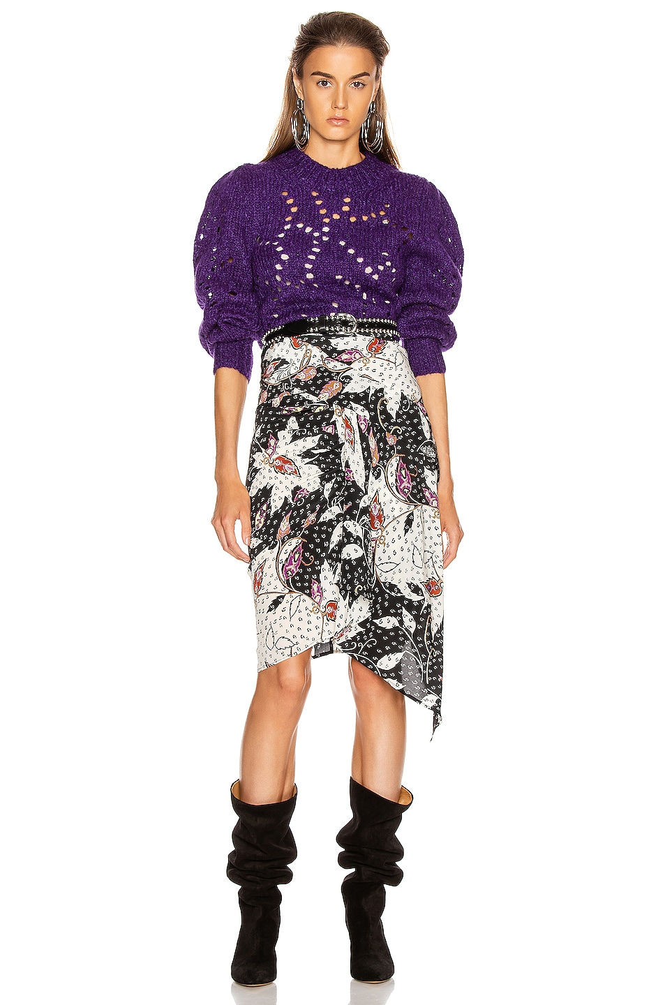 Image 5 of Isabel Marant Roly Skirt in Black