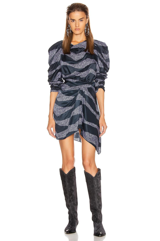 Image 5 of Isabel Marant Rosana Skirt in Midnight