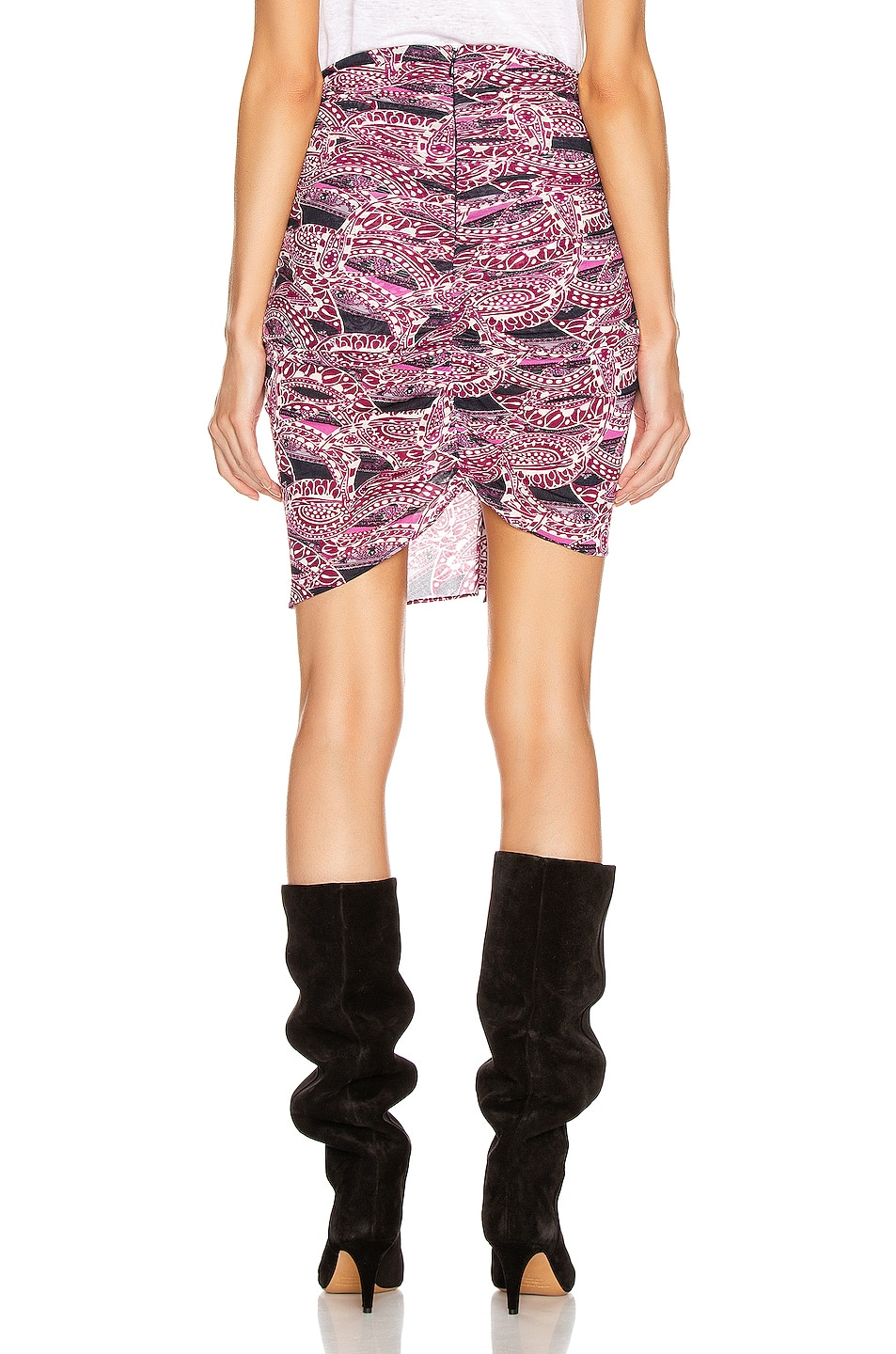 Image 3 of Isabel Marant Jominy Skirt in Pink & Blue
