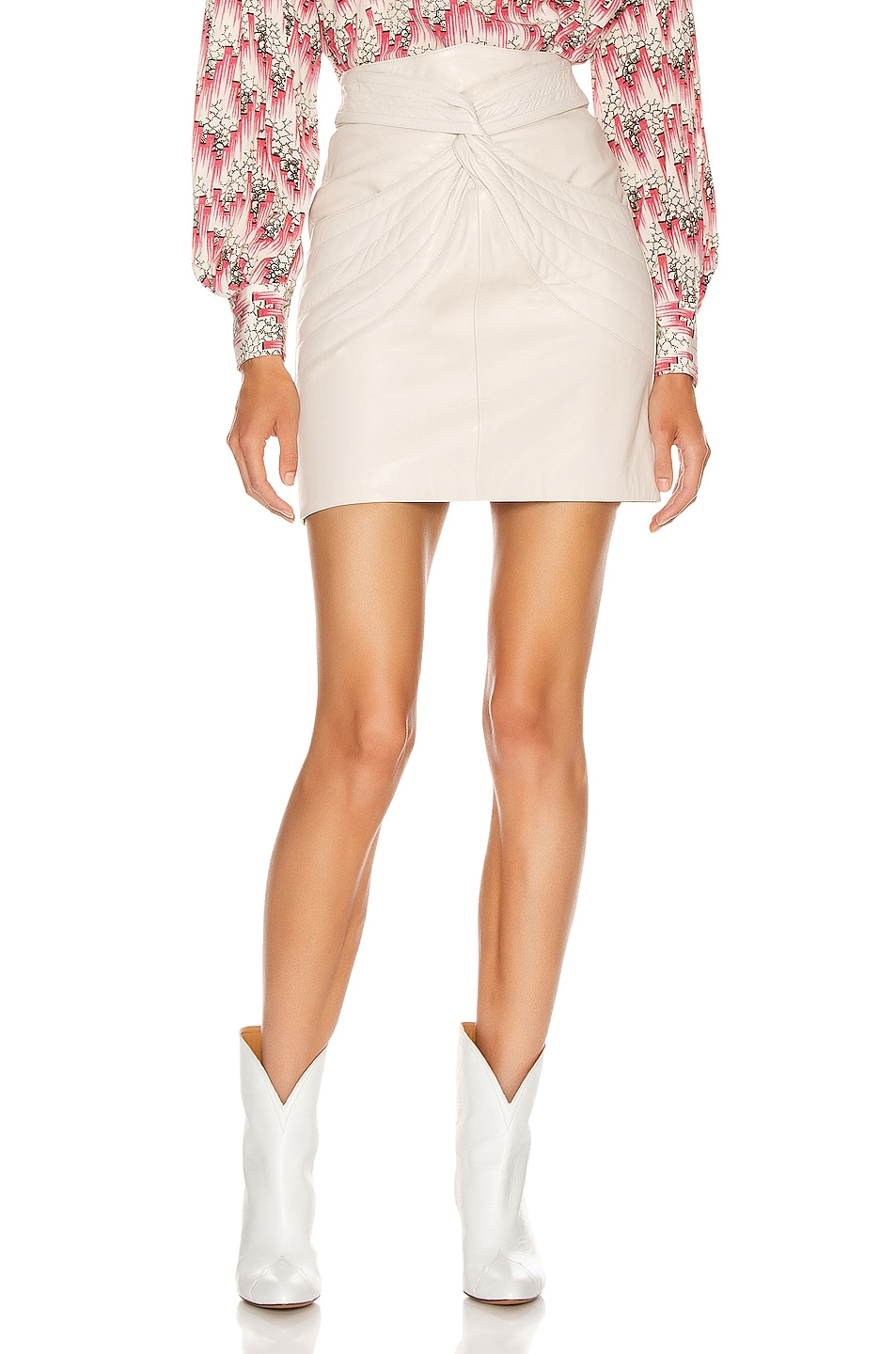 Image 1 of Isabel Marant Chaz Skirt in Chalk