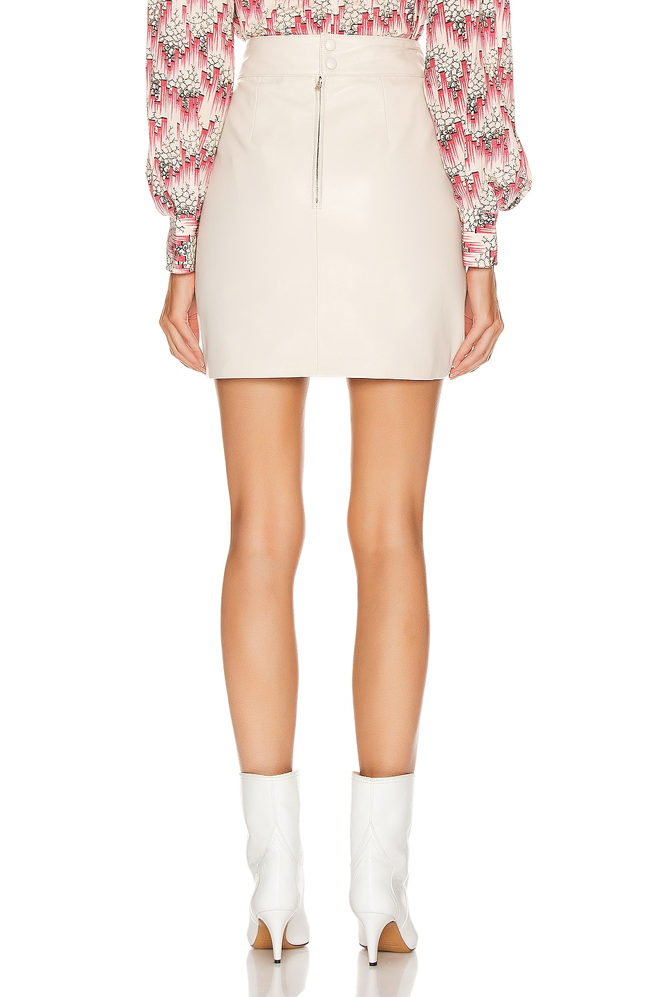 Image 3 of Isabel Marant Chaz Skirt in Chalk