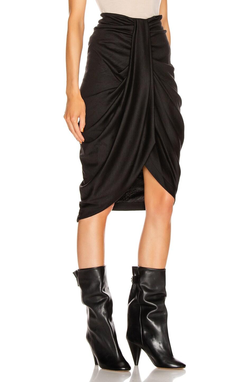 Image 2 of Isabel Marant Datisca Skirt in Black