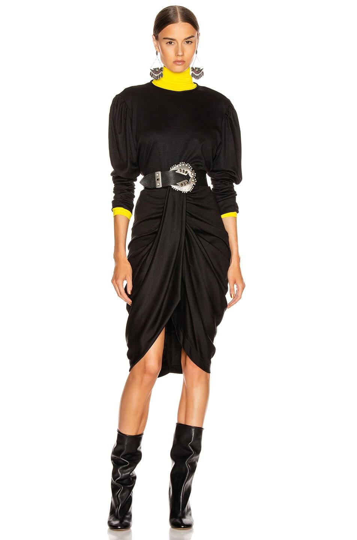 Image 4 of Isabel Marant Datisca Skirt in Black