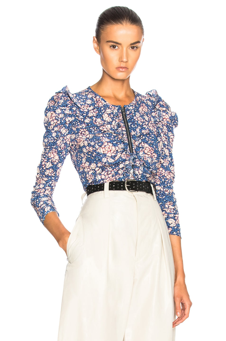 Image 1 of Isabel Marant Bali Top in Blue