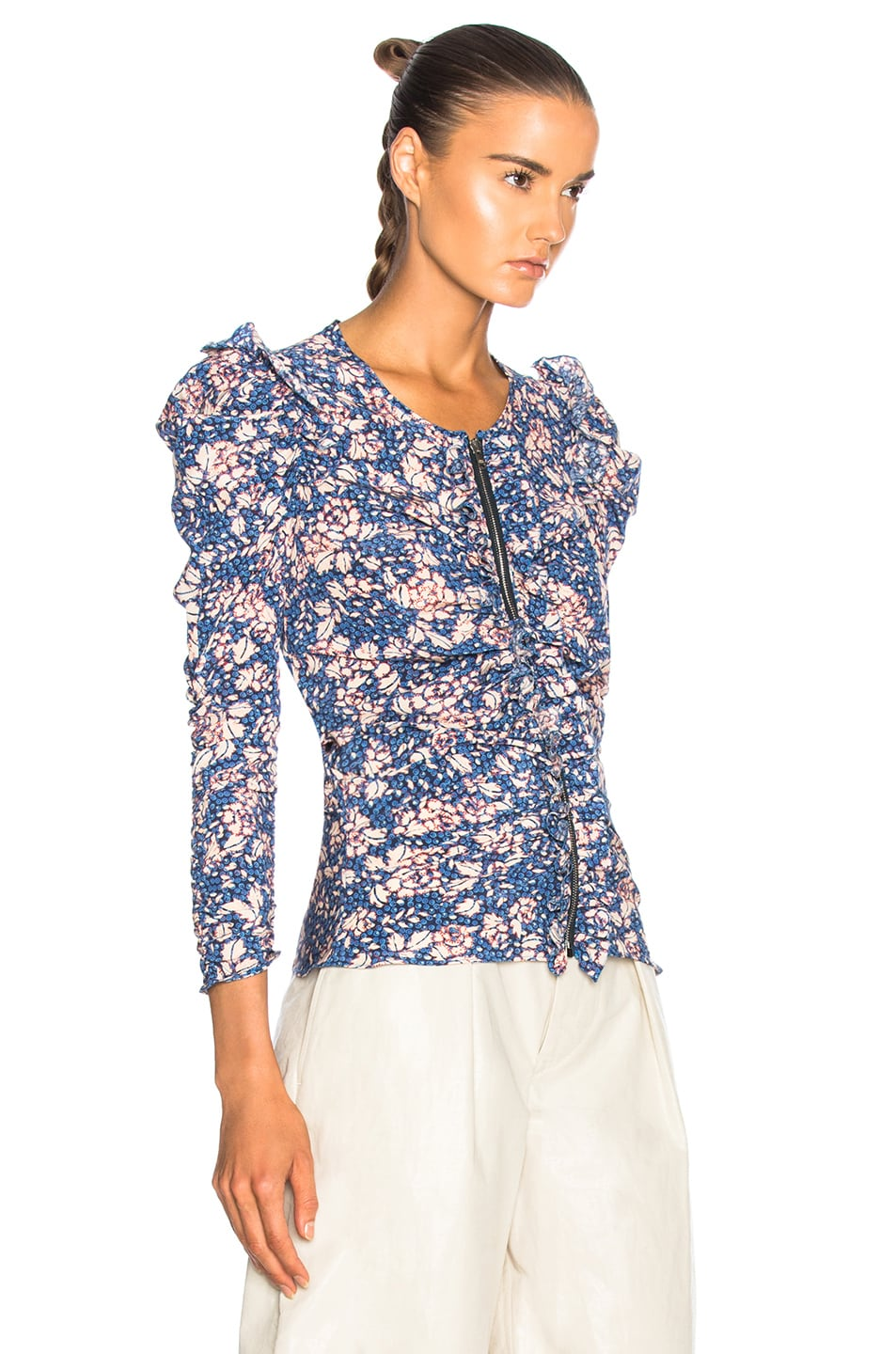 Image 2 of Isabel Marant Bali Top in Blue