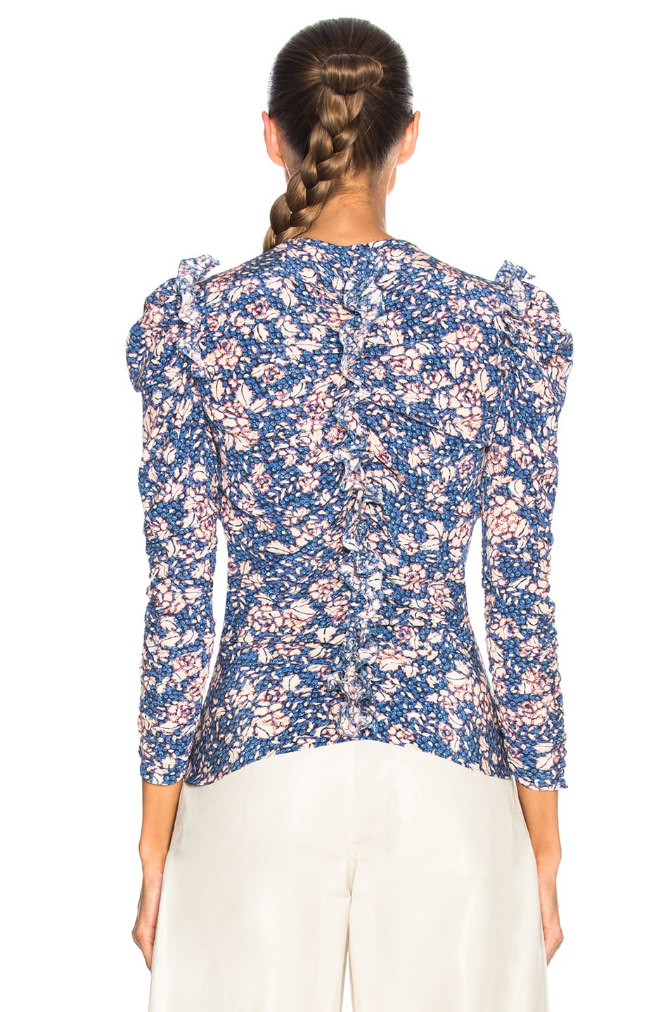 Image 3 of Isabel Marant Bali Top in Blue
