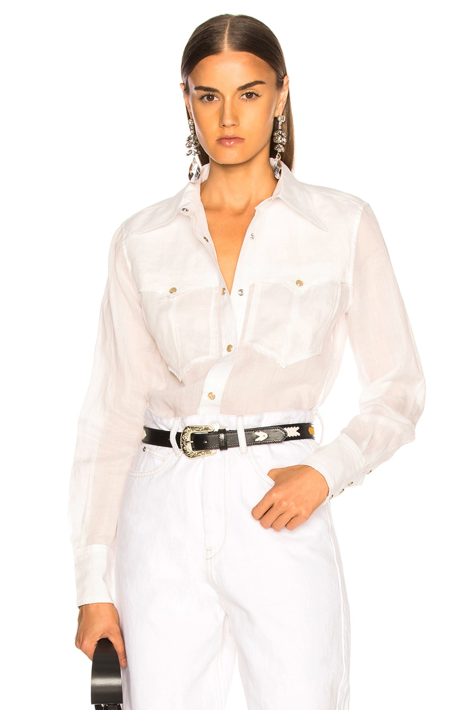 Image 1 of Isabel Marant Naria Shirt in White