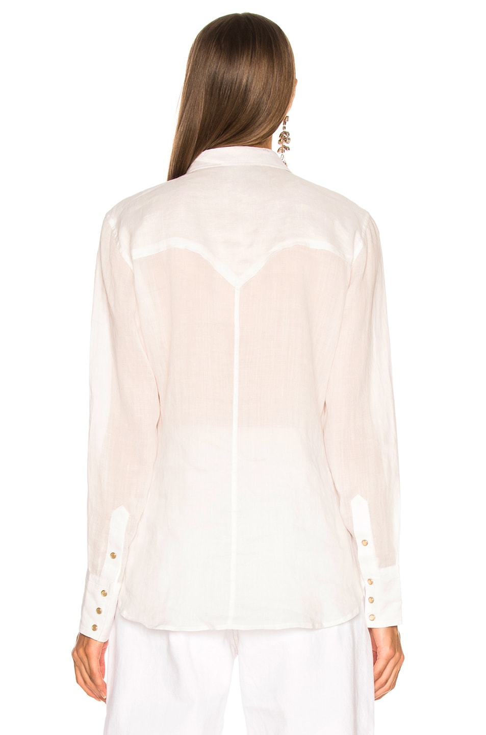 Image 4 of Isabel Marant Naria Shirt in White