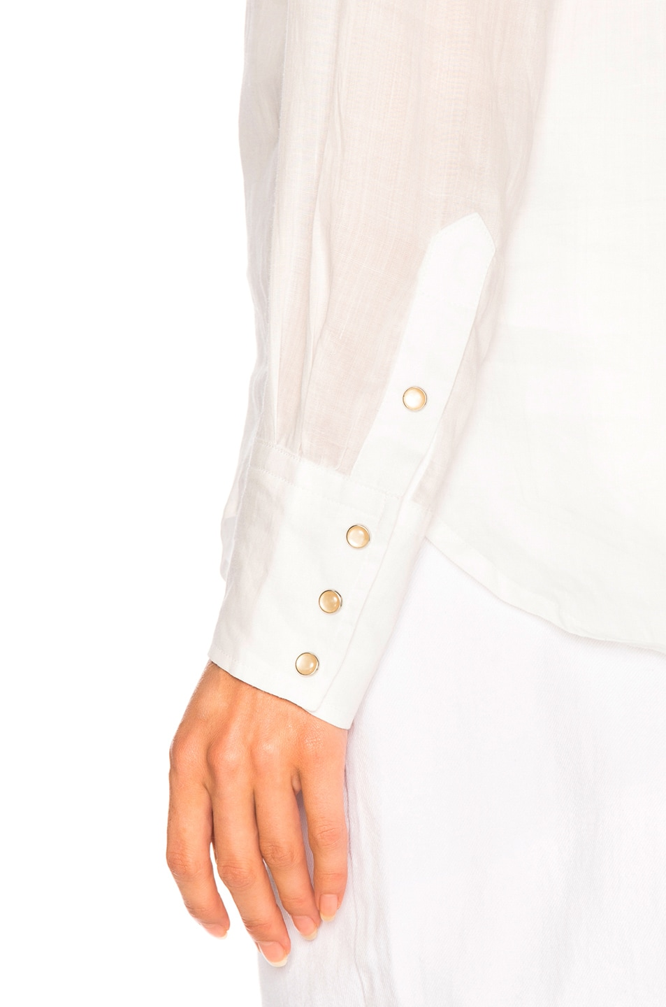 Image 6 of Isabel Marant Naria Shirt in White