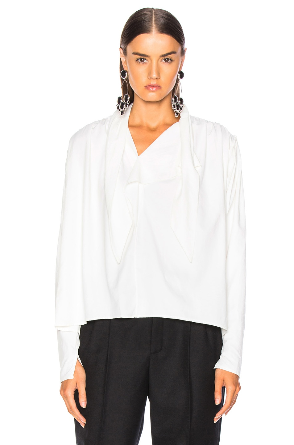 Image 2 of Isabel Marant Ugi Top in White