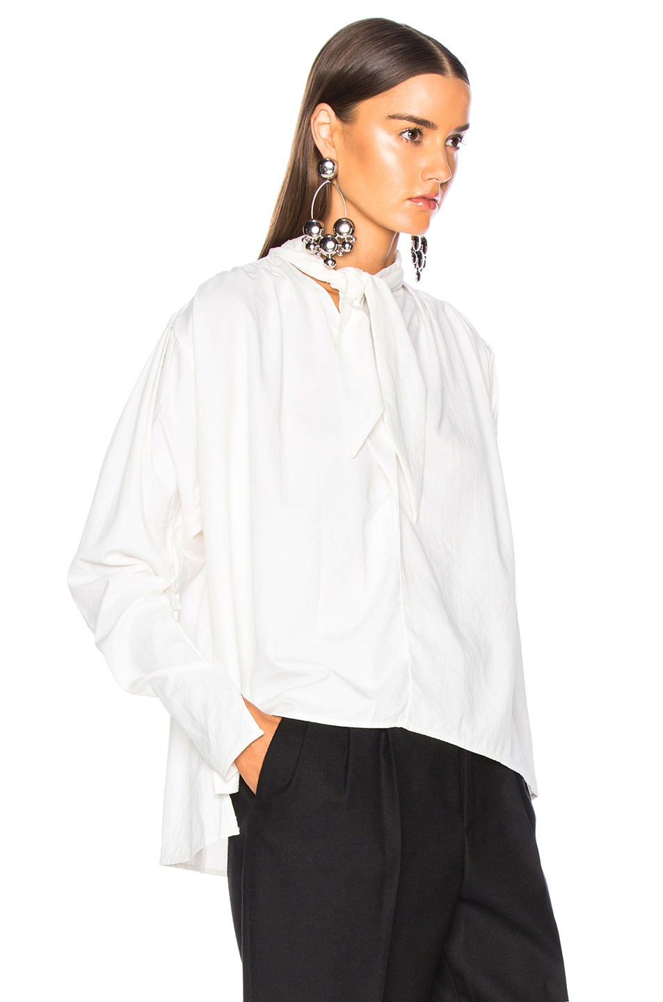Image 3 of Isabel Marant Ugi Top in White