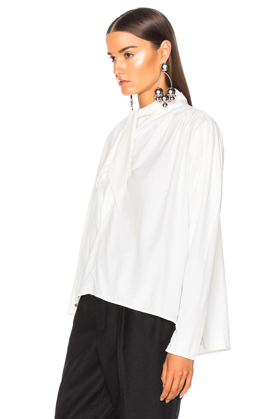 Image 4 of Isabel Marant Ugi Top in White