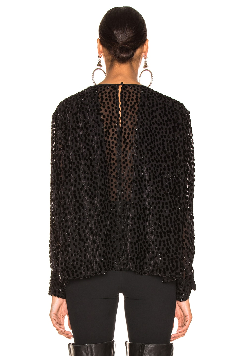 Image 3 of Isabel Marant Midway Top in Black